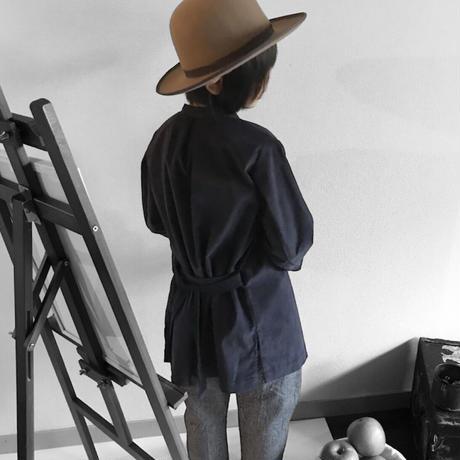 shirt coat -NAVY