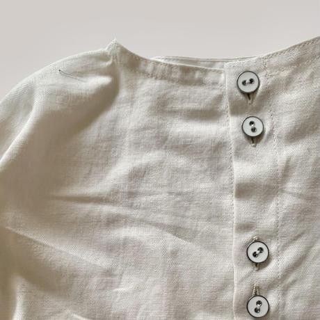 KIDS : 2tone shirt 110cm -  BLUE