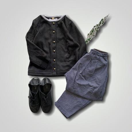 cardigan - BLACK 130cm,140cm