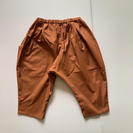 KIDS: Tapered pants 110cm  - abricot