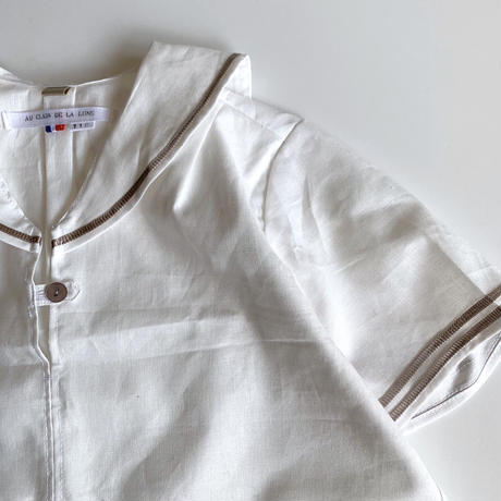 sailor shirt - linen&cotton