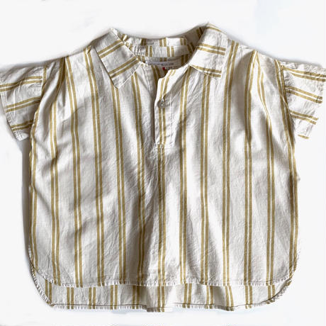 pullover shirt - yellow stripes