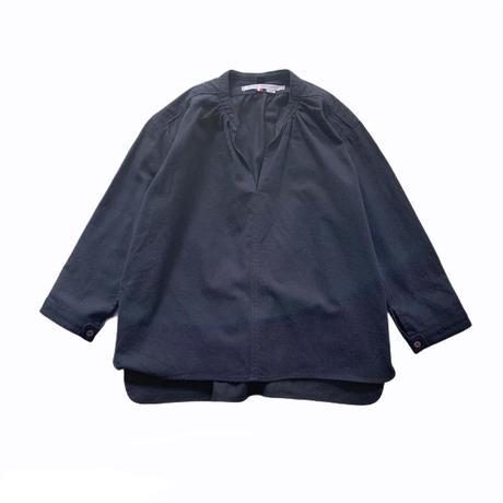 smock shirt - NAVY