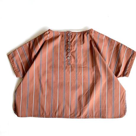 square shirt  - orange stripe