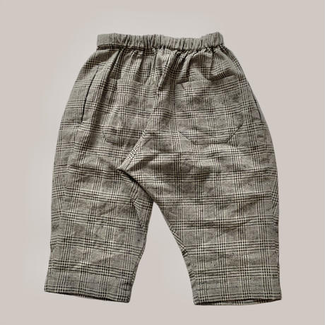 KIDS: Tapered pants 100cm  - grencheck