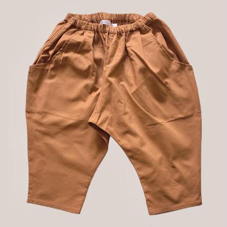 KIDS: Tapered pants 130cm   - abricot