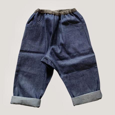 KIDS: saruel denim PT 100cm,110cm,120cm  - denim