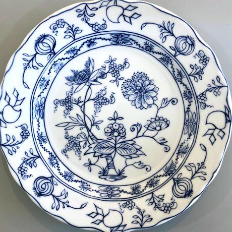 マイセン様式ブルーオニオン転写紙(ケーキ皿