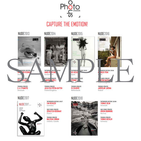 特典 Photoshoot Awards2019  ART NUDE catalog