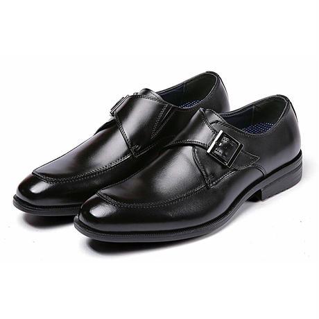 【Jo Marino】高品質 本革 メンズ ビジネス レザーシューズ 革靴 紳士靴 通気性 空気循環 消臭 衝撃吸収 幅広 軽量 7713