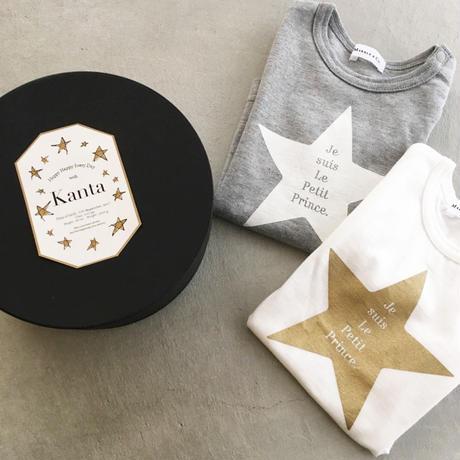 出産祝 星のTシャツ 星のボックス入り