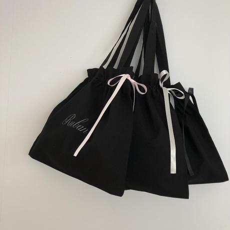 Rubanの巾着バッグ