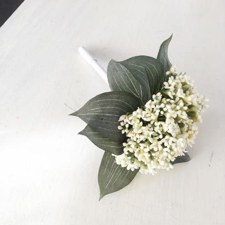 小花のフルール(ホワイト)
