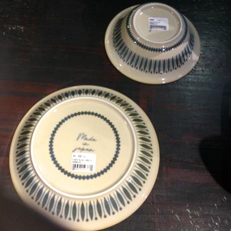 クッカロッキ カレー&パスタ皿 (お花)