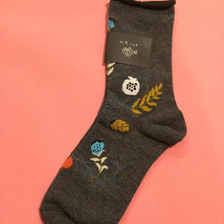 松尾ミユキ Goodmorning Plants Socks