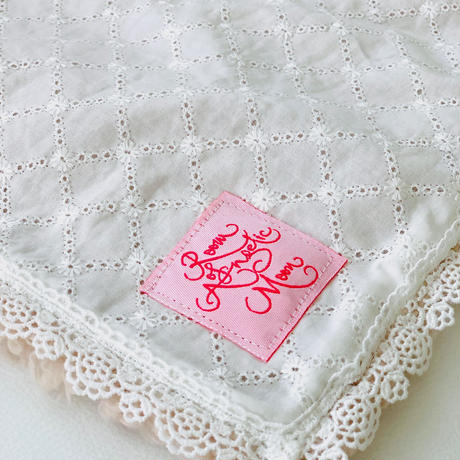 【Cafe Mat】Lovely Lace fabric Cafe mat(ラブリーレースファブリックカフェマット)