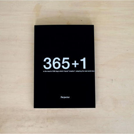 "ART BOOK ""365+1"" by Re:jector"