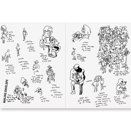 EVERY PERSON IN NEW YORK: VOL 2 by Jason Polan