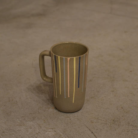 HELEN LEVI / Kuzmug with inlaid stripes multi
