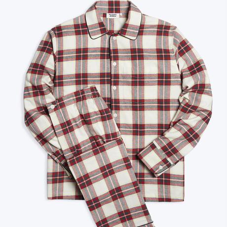SLEEPY JONES / Henry Pajama Set Gift Wrap Flannel