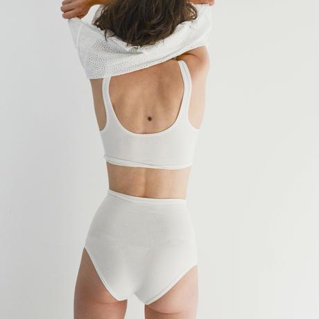 hazelle / hi-waist tan