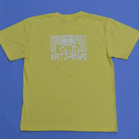 """BUYSENtatjana"" short sleeve T-shirt 2021 YELLOW"