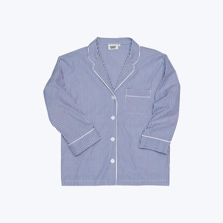 SLEEPY JONES // Marina Pajama Shirt Bengal Stripe
