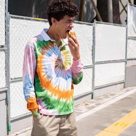 MAGILL Los Angeles // KEATON TIE DYE RUGBY