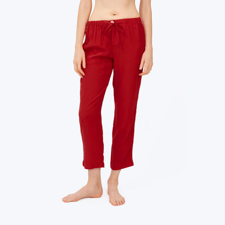 SLEEPY JONES // Silk Marina Pajama Pant