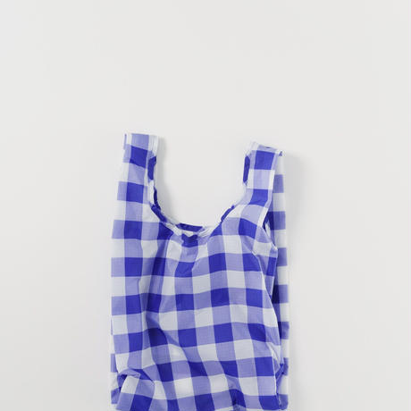 BAGGU // Baby bag in Gingham Check