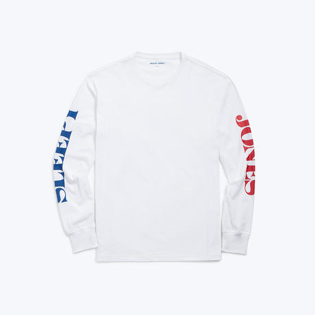 SLEEPY JONES // Long Sleeve Logo T-shirt