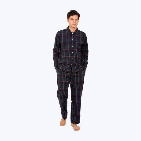 SLEEPY JONES / Henry Pajama Set Washed Plaid
