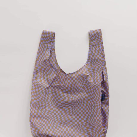 BAGGU / Standard Baggu Lavender Trippy Checker