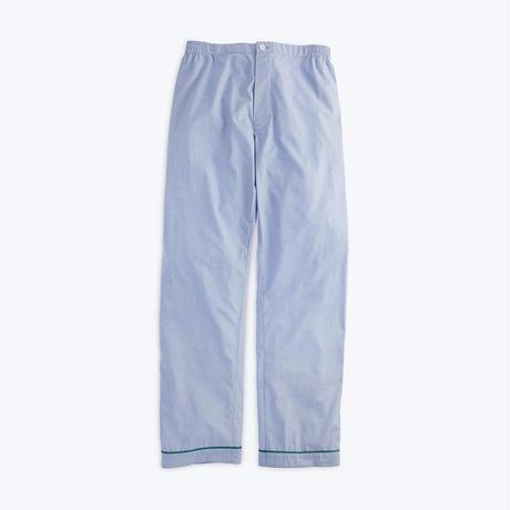 SLEEPY JONES // Marcel Pajama Pnat End on End Blue