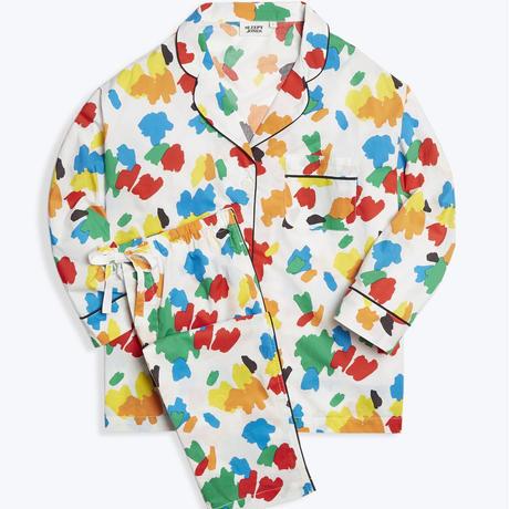 SLEEPY JONES / Marina Pajama Set Palette Print