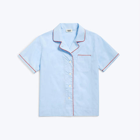 SLEEPY JONES / Corita Pajama Shirt End on End Blue
