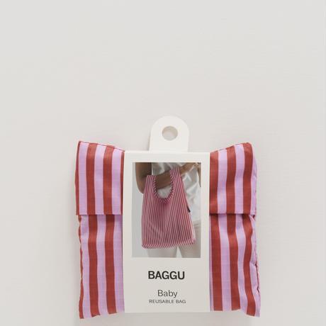 BAGGU / Baby Baggu Cerise Stripe