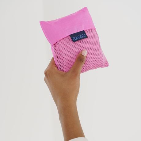 BAGGU / Mesh Baggu Bright Pink