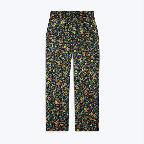 SLEEPY JONES // Marina Pajama Pant Navy Liberty Edenham Floral