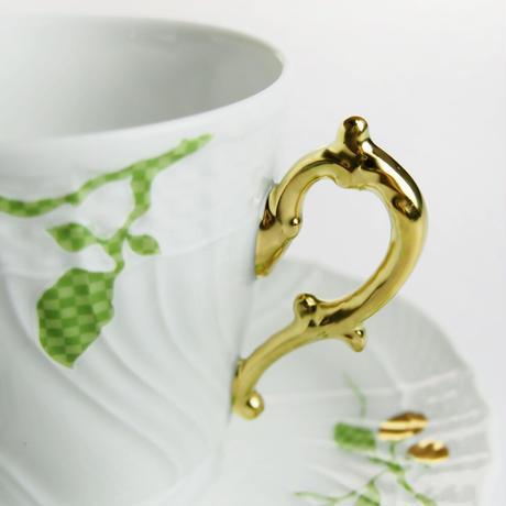リチャード・ジノリ (Richard Ginori) フィオーリヴェルディ コーヒーカップ&ソーサー  (L)