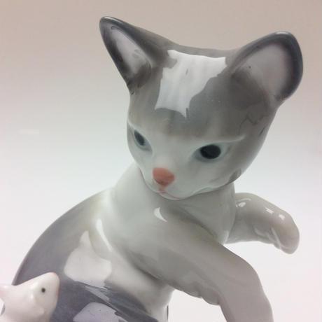 【リヤドロ】驚いた仔猫ちゃん 5236