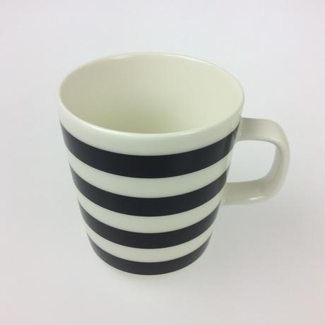 【マリメッコ】TASARAITA(タサライタ)マグ ブラック×ホワイト