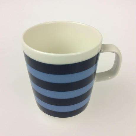 【マリメッコ】TASARAITA(タサライタ)マグ ダークブルー×ライトブルー