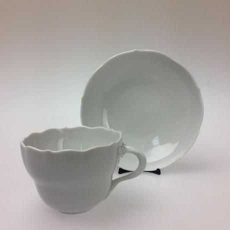 【マイセン】ノイアー・アウスシュニット   コーヒーカップ&ソーサー  000001/00582
