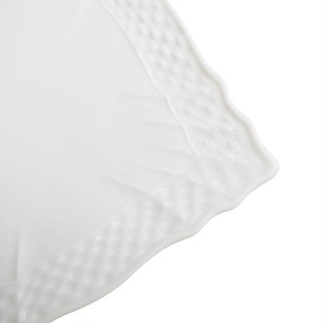 リチャード・ジノリ (Richard Ginori)   ベッキオホワイト スクエアプレート 10cm 0289