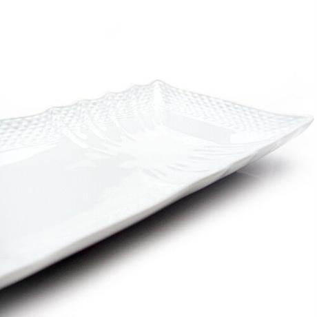 リチャード・ジノリ (Richard Ginori) ベッキオホワイト 長方形皿 28cmx12cm