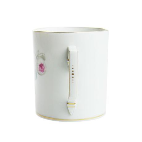 マイセン(Meissen) ホワイトローズ マグカップ 029510/55810