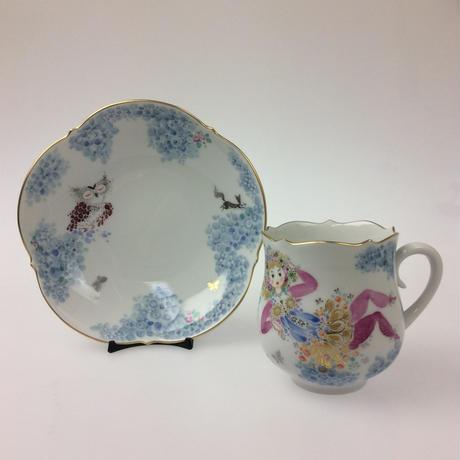 【マイセン】ミッドサマー・ナイトドリーム コーヒーカップ&ソーサーNo.5