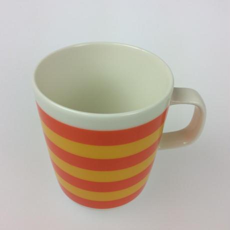 【マリメッコ】TASARAITA(タサライタ)マグ オレンジ×イエロー