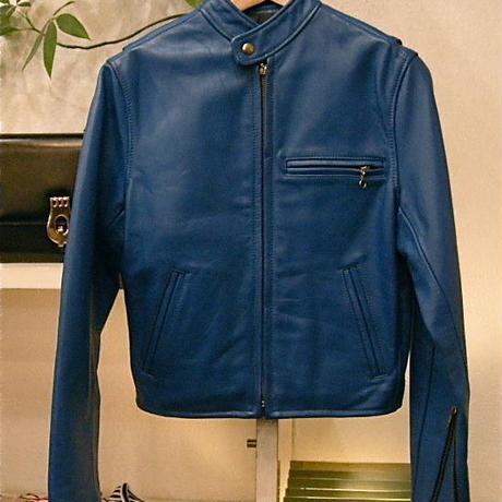 USA製、本革ライダースジャケット